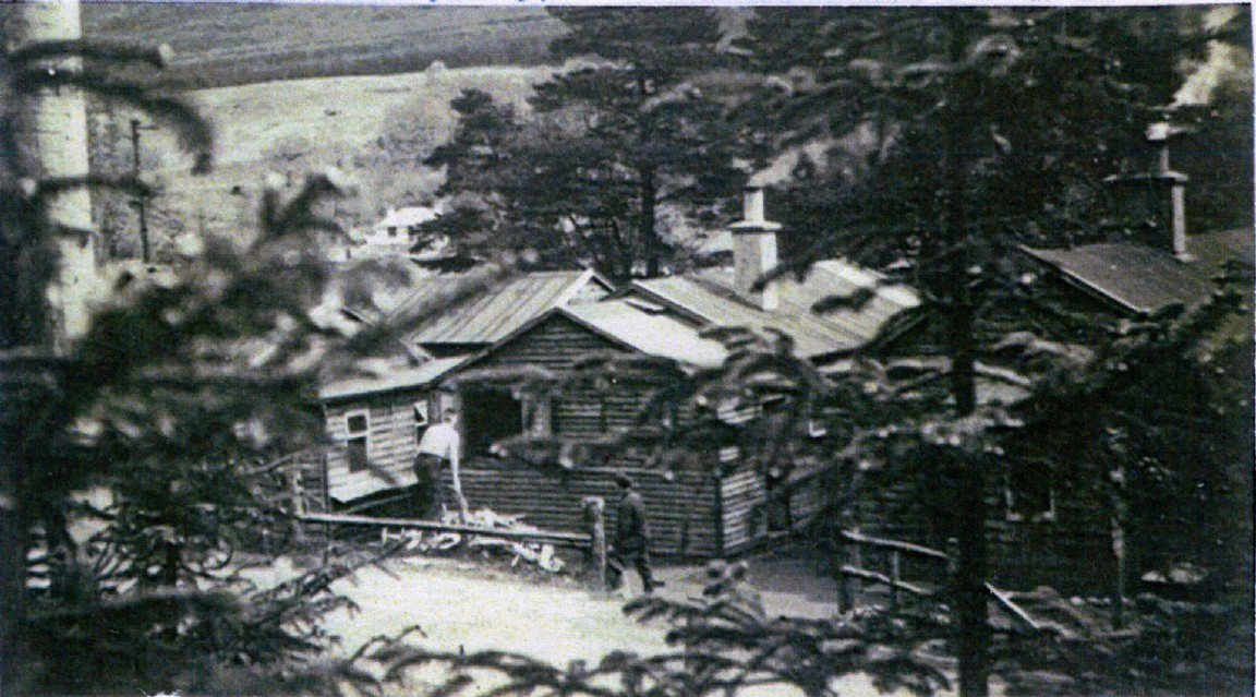 Forestry Commission Bothy, Strathyre, 1955
