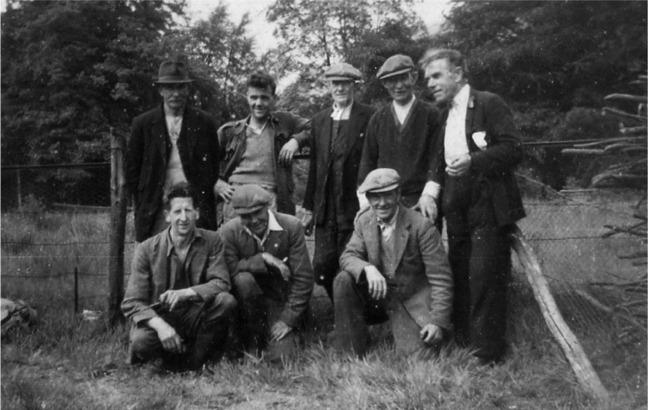 Ardentinny Team, Glenfinart, 1949