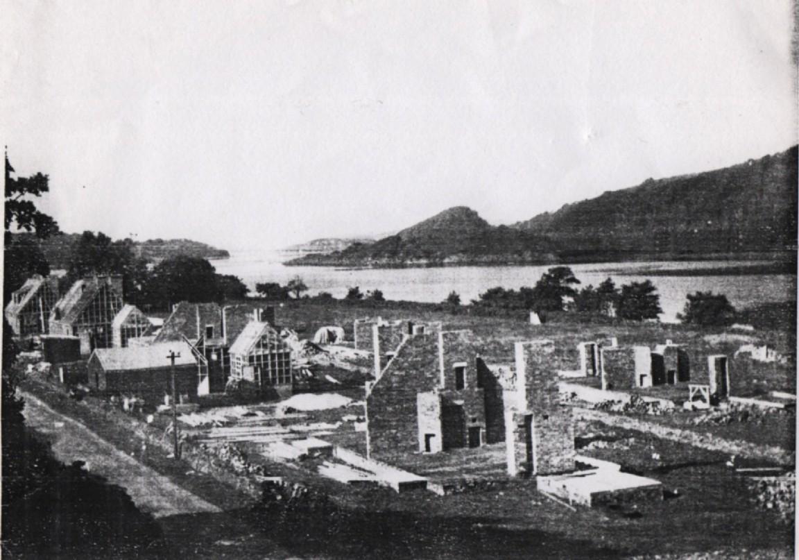 Construction of Achnamara, 1949