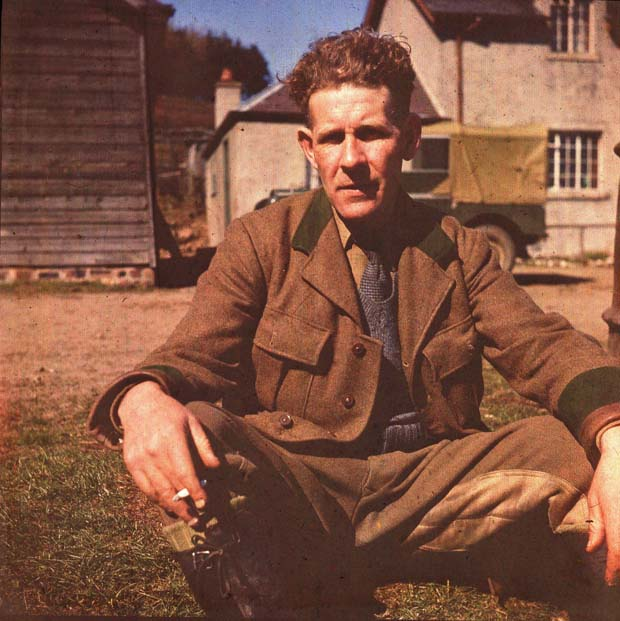 Ed Grigor, Forester, Glen Isla, 1952