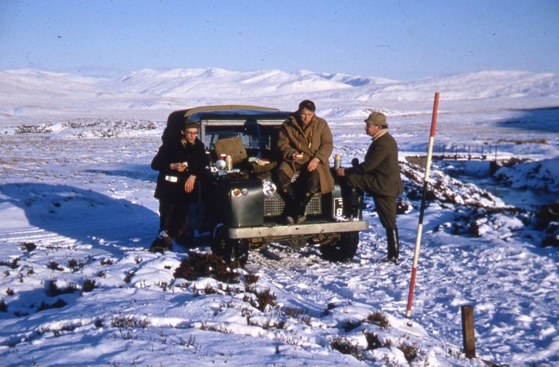 Rannoch Forest survey team, 1960