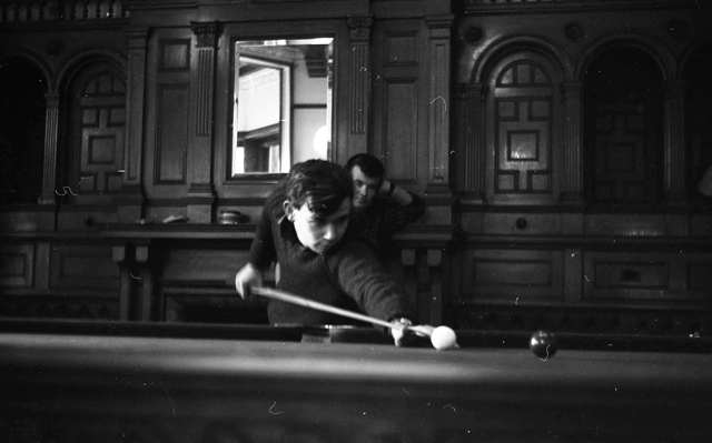 1964_Students playing pool.jpg