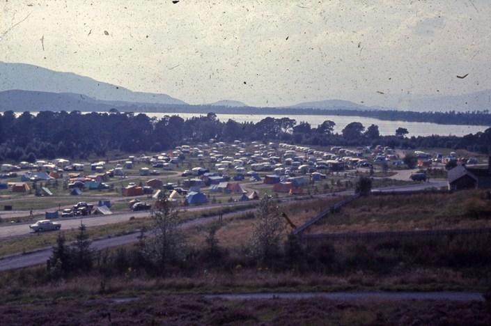 Glenmore caravan and campsite, 1970
