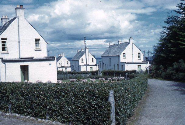 Milbuie Forestry houses, 1970