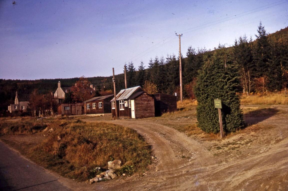 Bennachie Forest Office, 1972