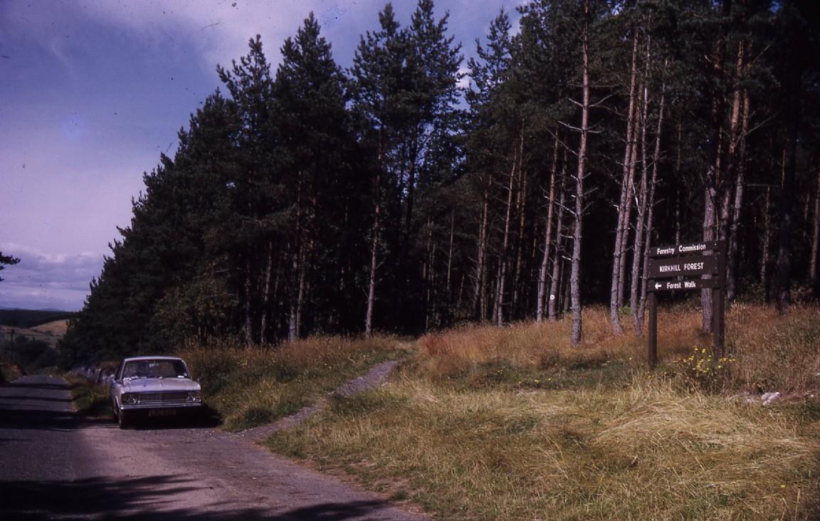 Kirkhill Forest Walk, 1973