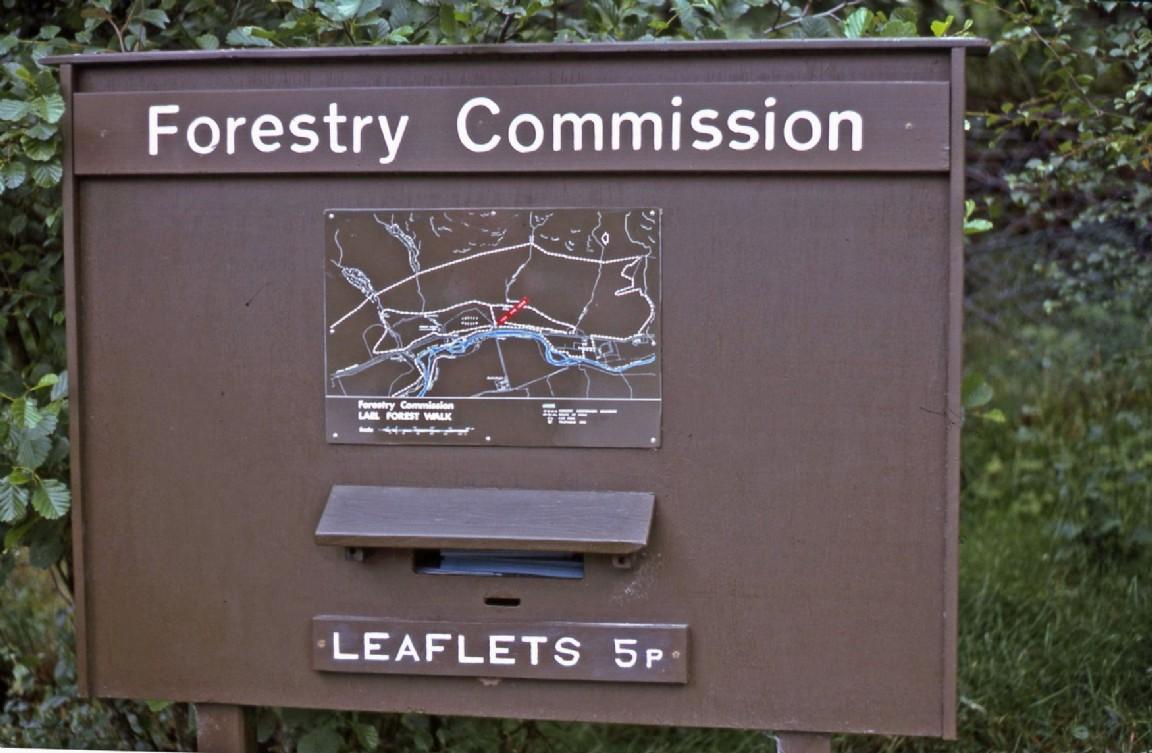 Leaflet box, Leal Forest, 1975