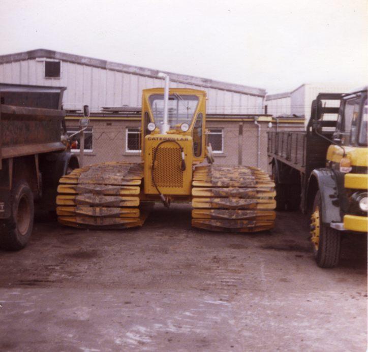 Caterpillar D4 tractor, 1980