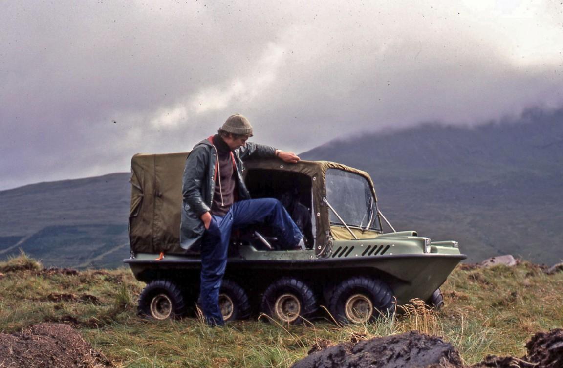 Argocat all-terrain vehicle, Skye, 1980