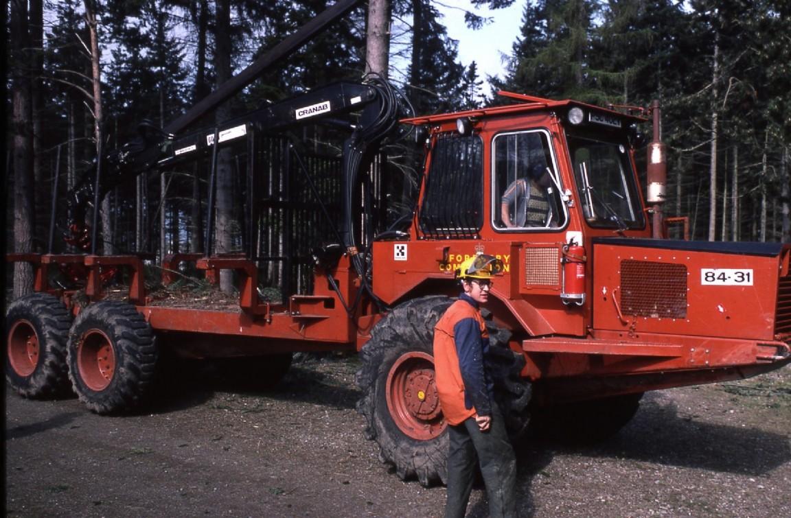Kockums 84-31 Forwarder, Culloden, 1980