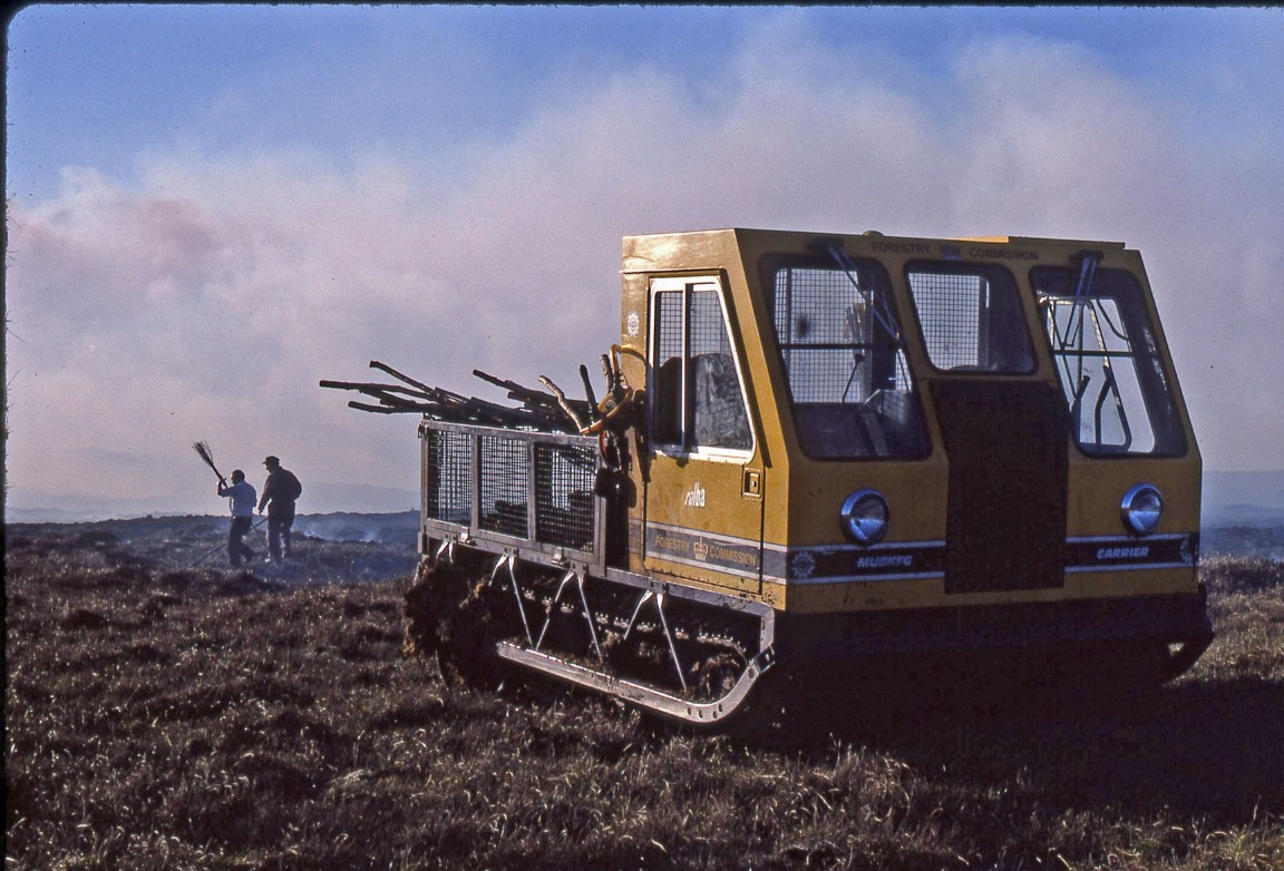 Muskeg All-Terrain Vehicle, 1980