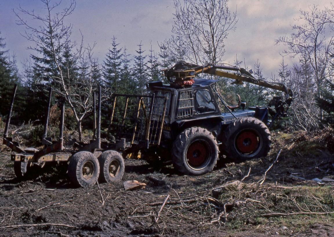 Ratagan forward forester, 1980