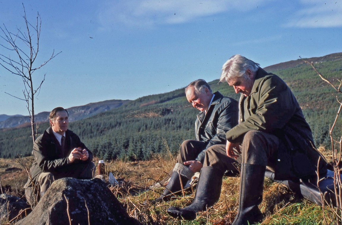 Visit to Glengiach, 1981