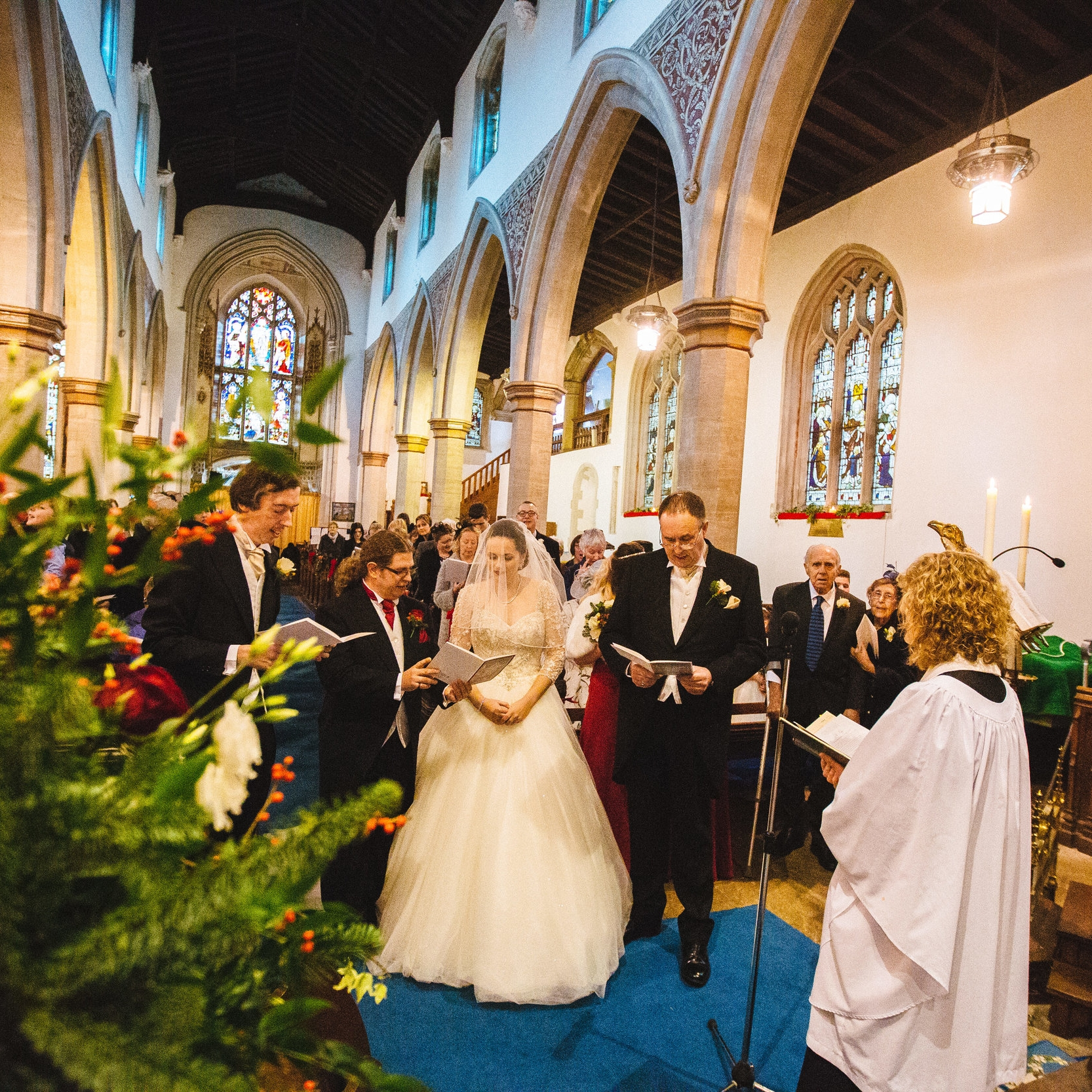 WEDDINGS - For more information on holding your special day at one of our churches