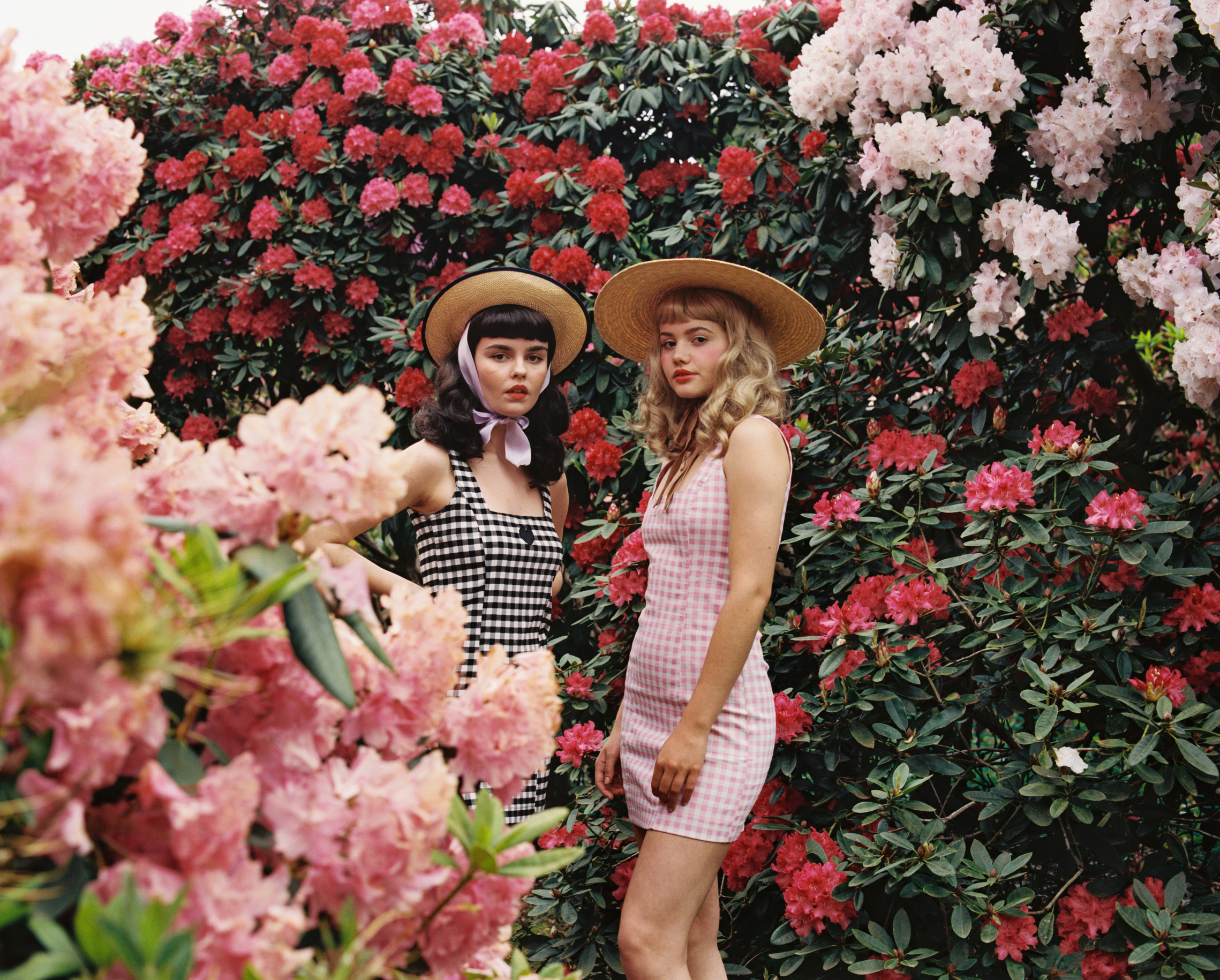 Florence and Frances for Lazy Oaf
