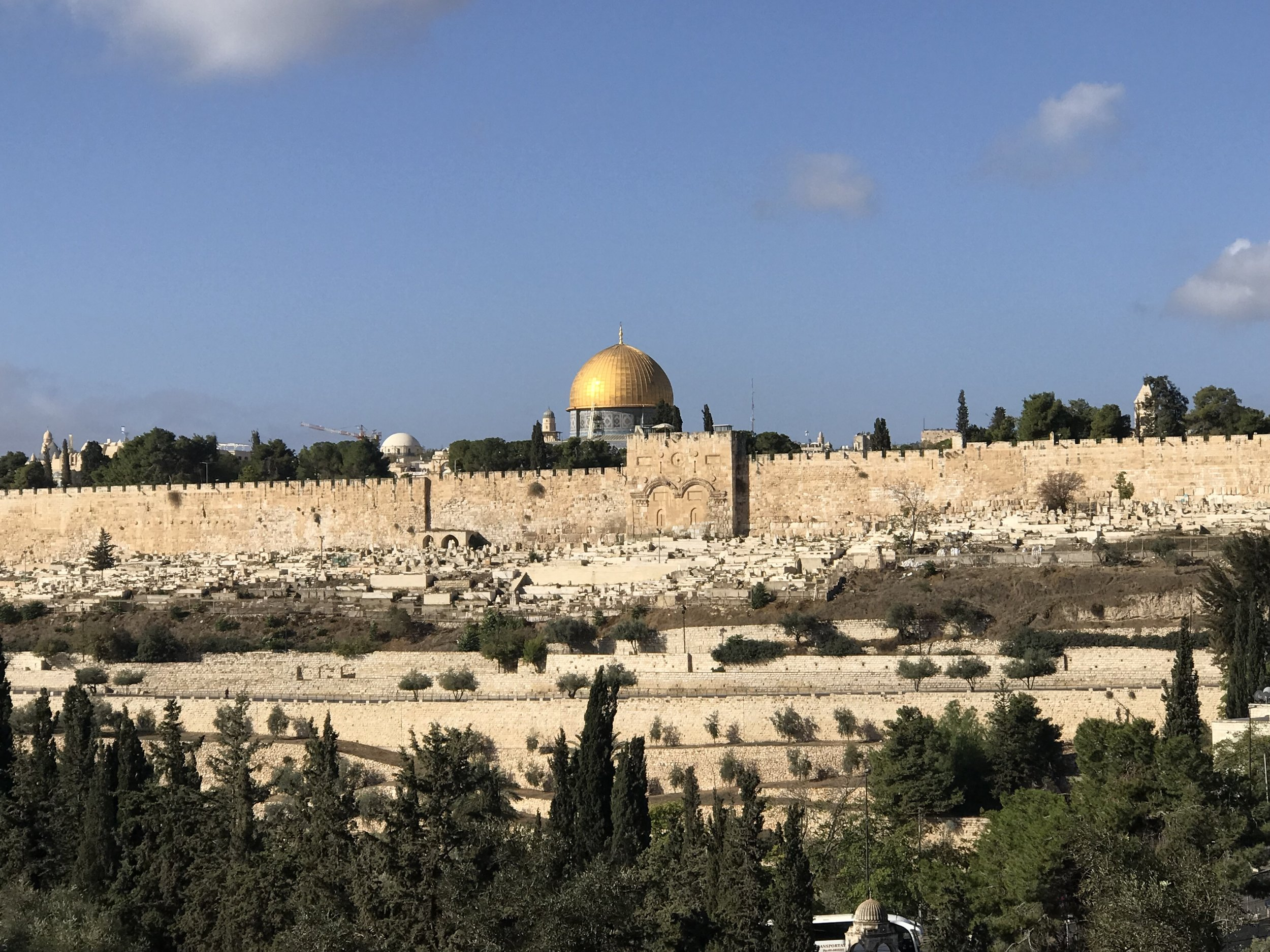 Jerusalem, Israel. Dome of the Rock.