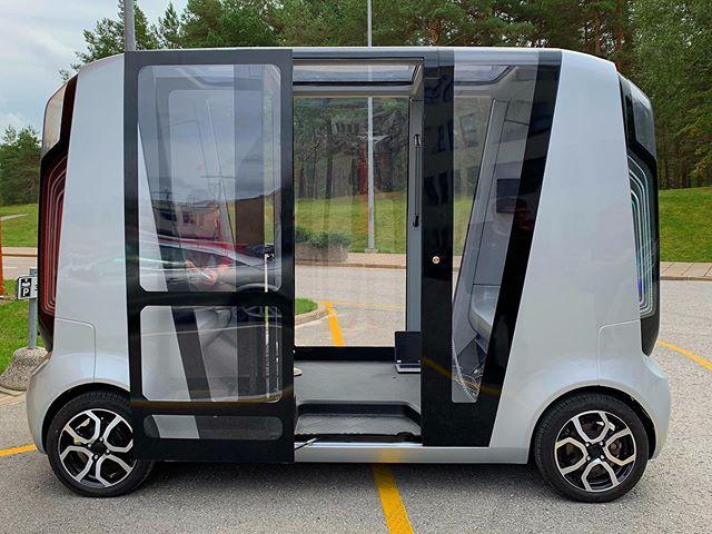 Our next project will soon begin. @vttfinland #electricvehicle #bus #autonomousvehicles #technology