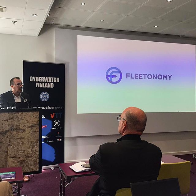 Operations Manager Stephen Sutton presents Fleetonomy's recent projects at Finland's 1st Drone Congress in Helsinki. @soarizonbythales @traficom_finland #dronephotography#droneoftheday #dronestagram #dronesdaily #dronefly#dronegear #drone #mavic #dji #quadcopter #dronelife#dronebois#aerialphotography#droneporn#djiglobal #djiphantom #fromwhereidrone #natgeoworld#natgeotravel #mavicpro #mavicprophotography #dji #djimavicpro #droneaddicts