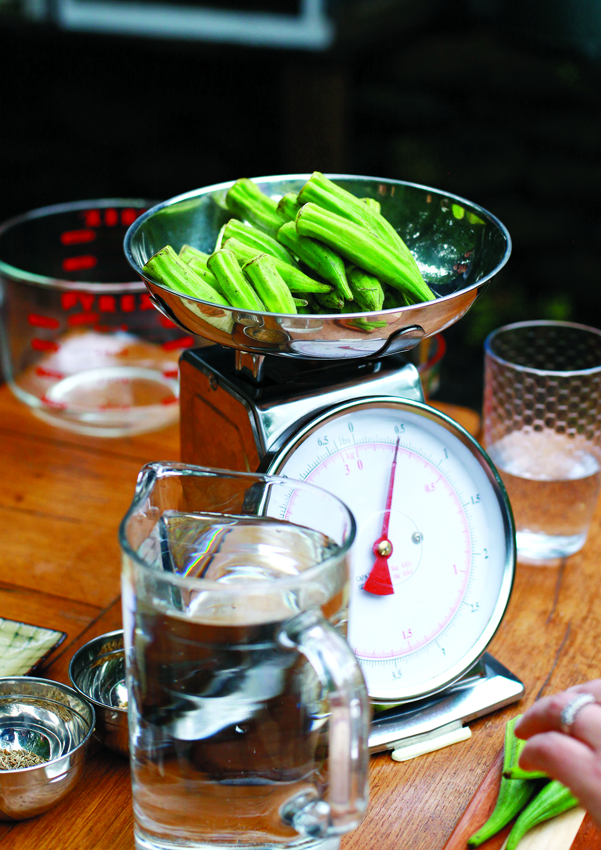 Handmade Gatherings_Weighing Okra.jpg