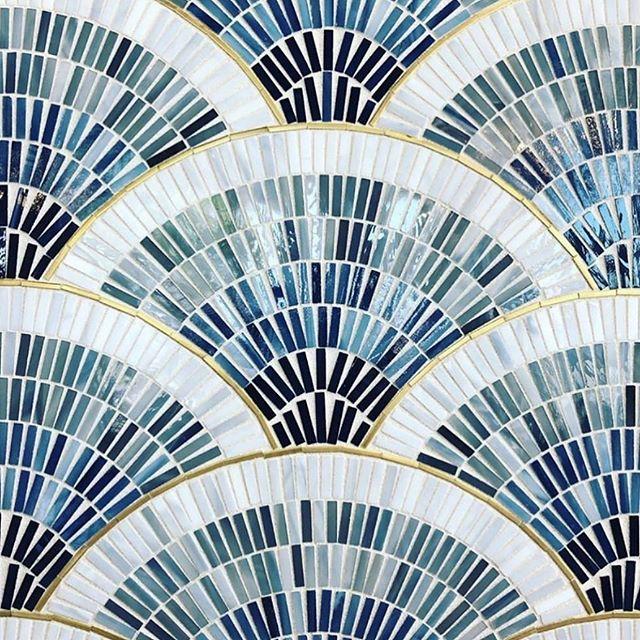 The perfect mosaic for some outdoor flooring 🌊 #interiordesign #interiors #mosaic #luxury #homeinspo