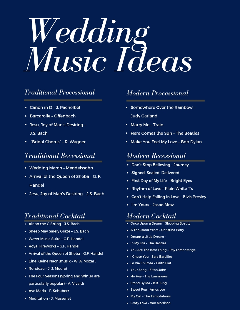 Wedding and Event Music: A Guide — Shaw Strings