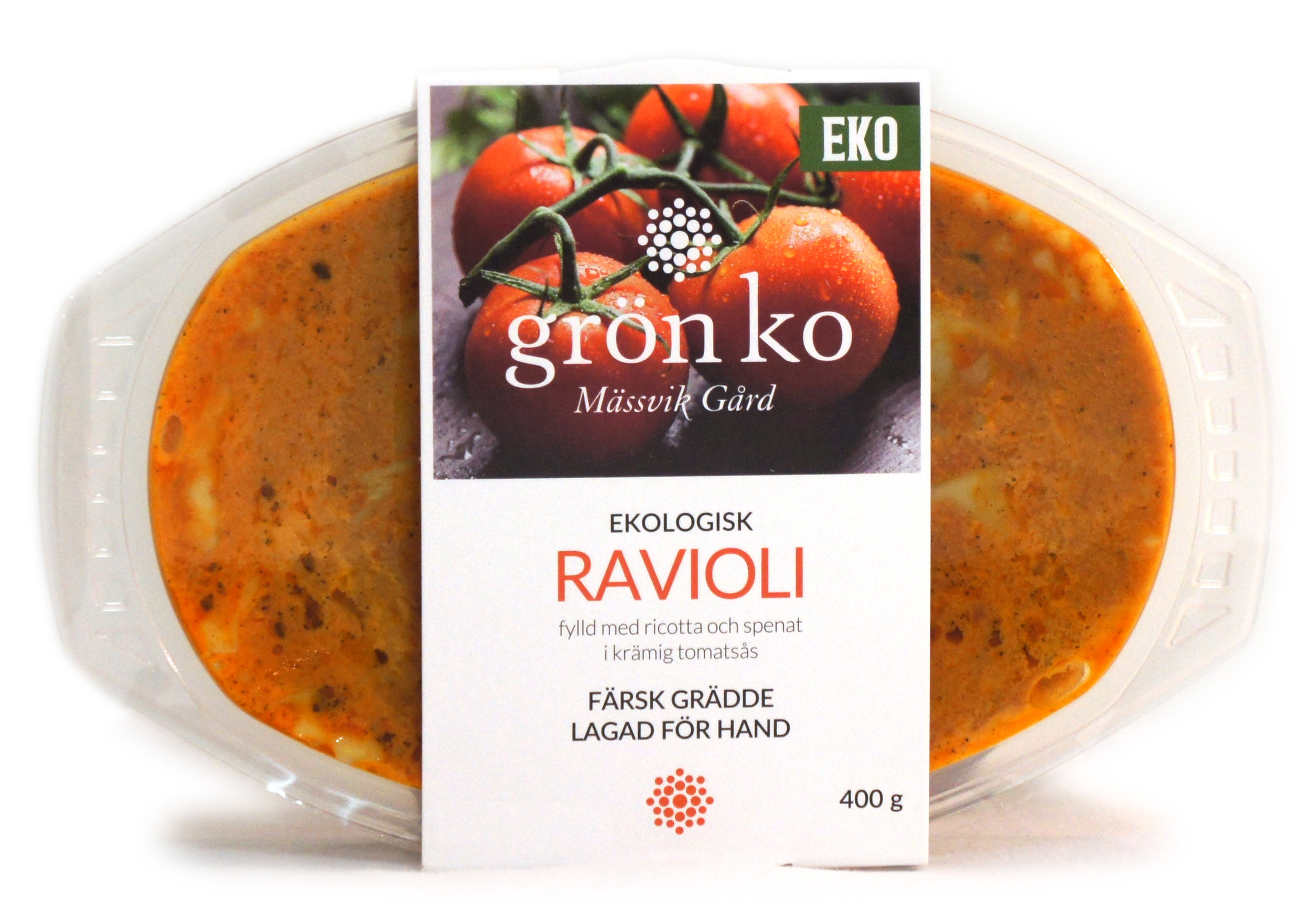 Ravioli i tomatsås