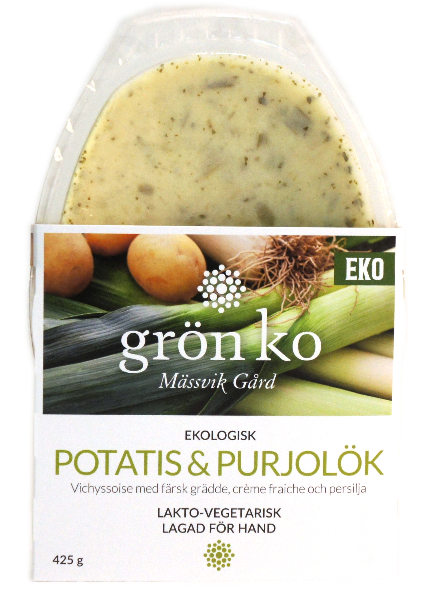 Potatis & Purjolökssoppa