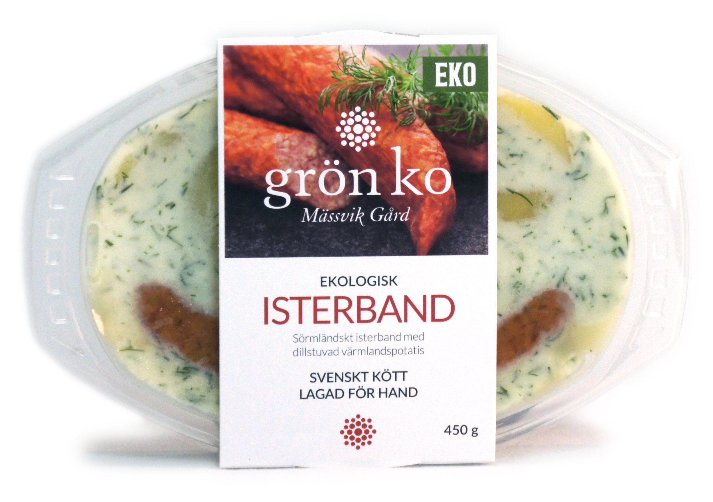 Copy of Isterband med stuvad potatis