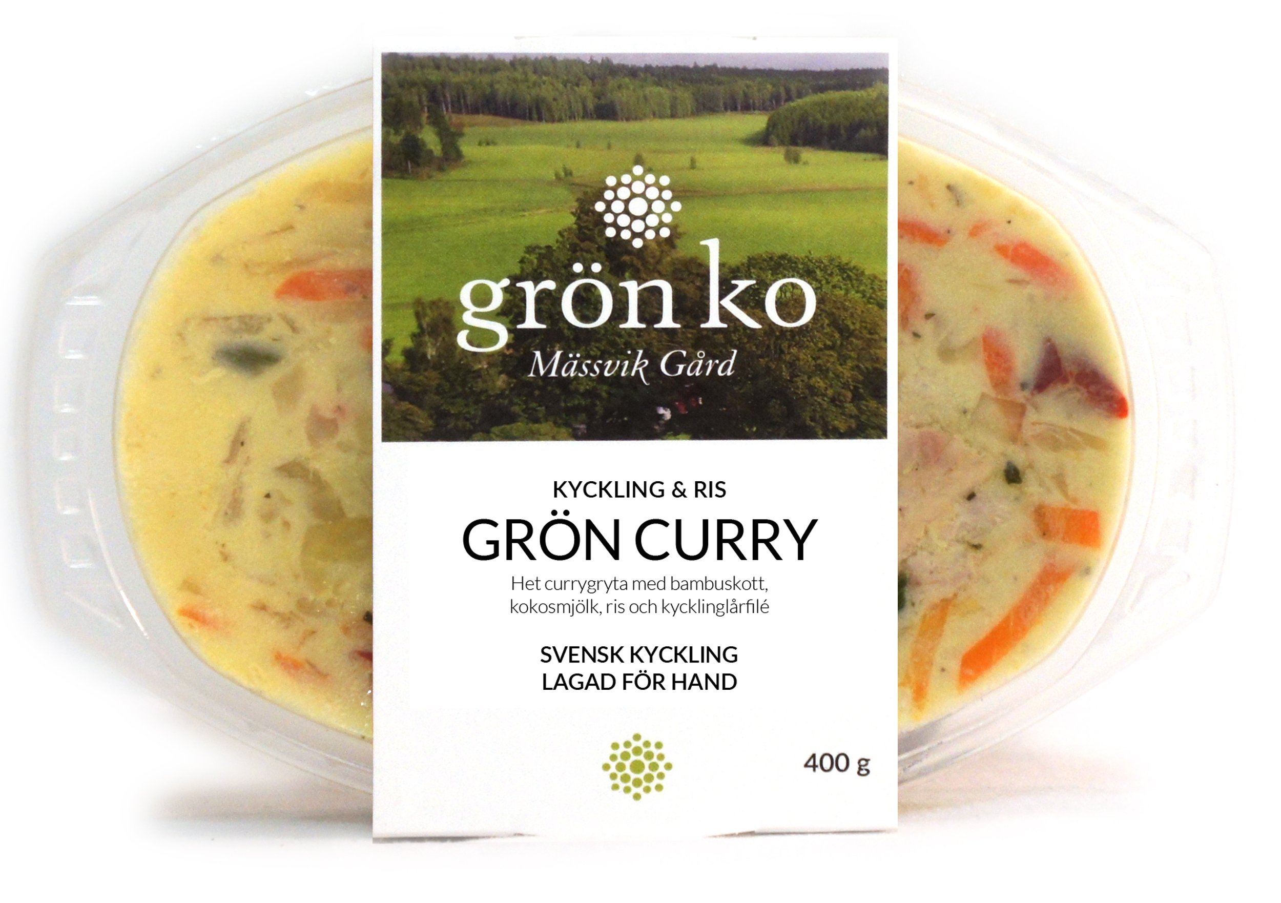 Grön curry färdigmat