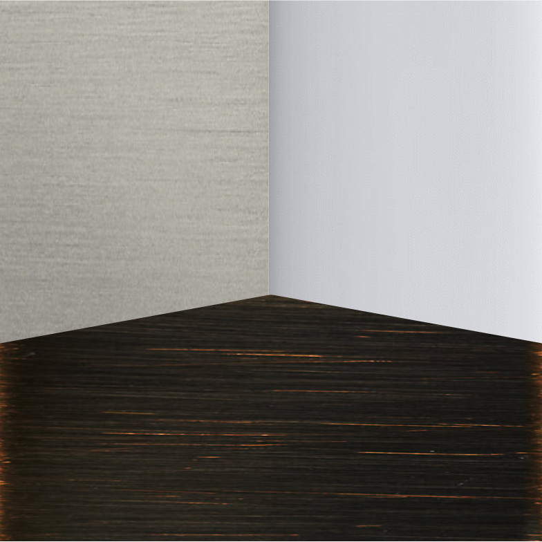Step 4 - Choose your finishes.Do you prefer the crisp finish of polished chrome, the classic strokes of brushed metals, or the contrast of oil rubbed bronze?Coordinating or contrasting all of Stellar's collections will work seamlessly with your design.