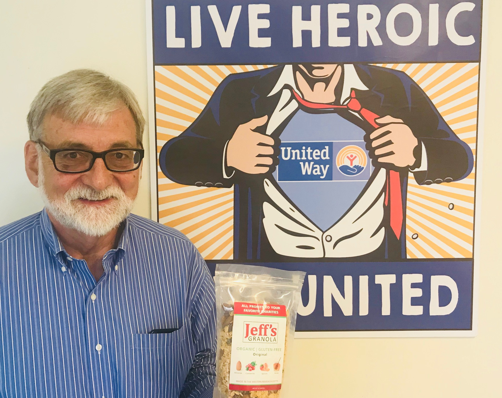 Jeff Greim, founder of Jeff's Granola.