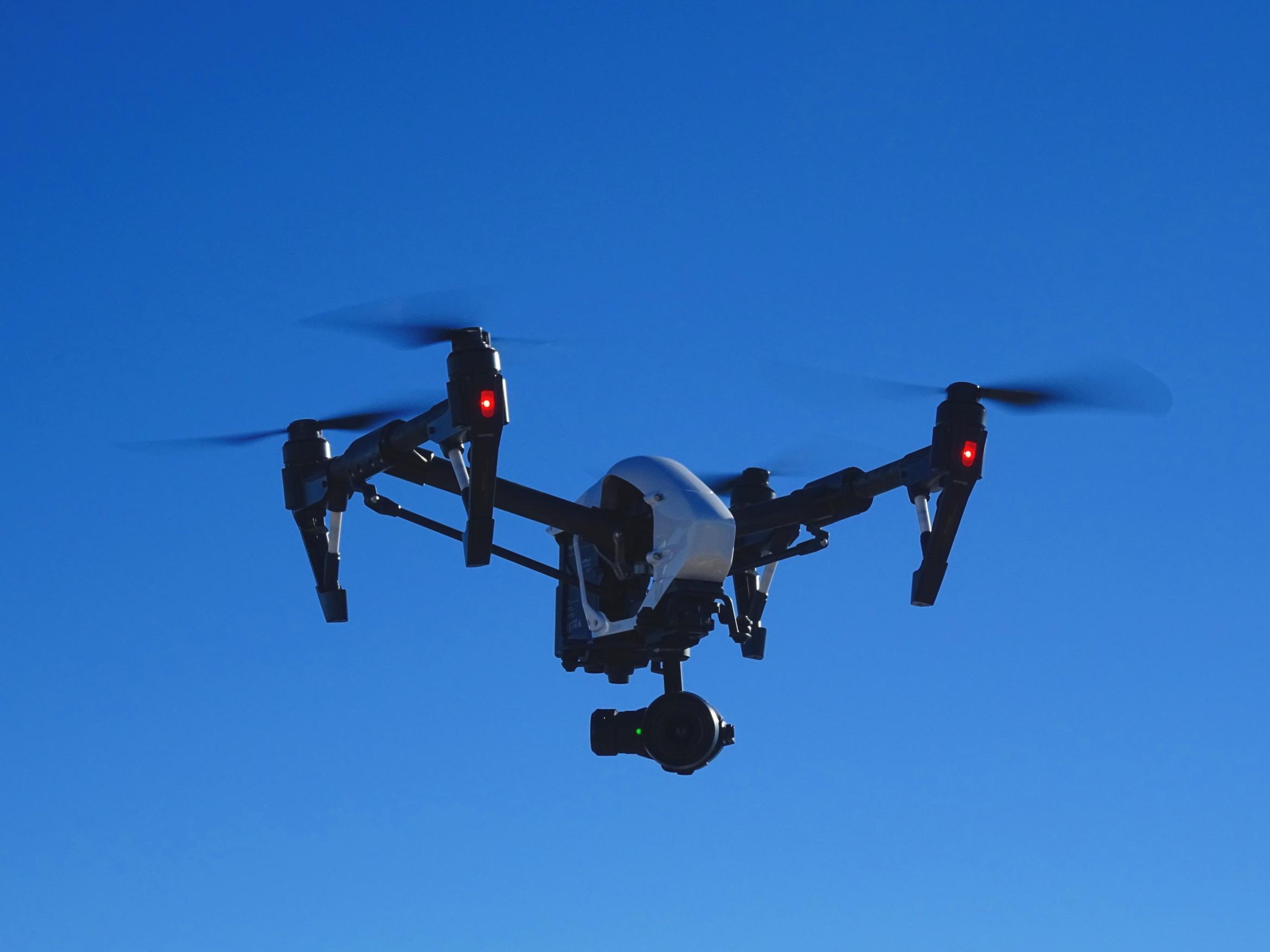 Drone DJI Inspire PRO, caméra X5