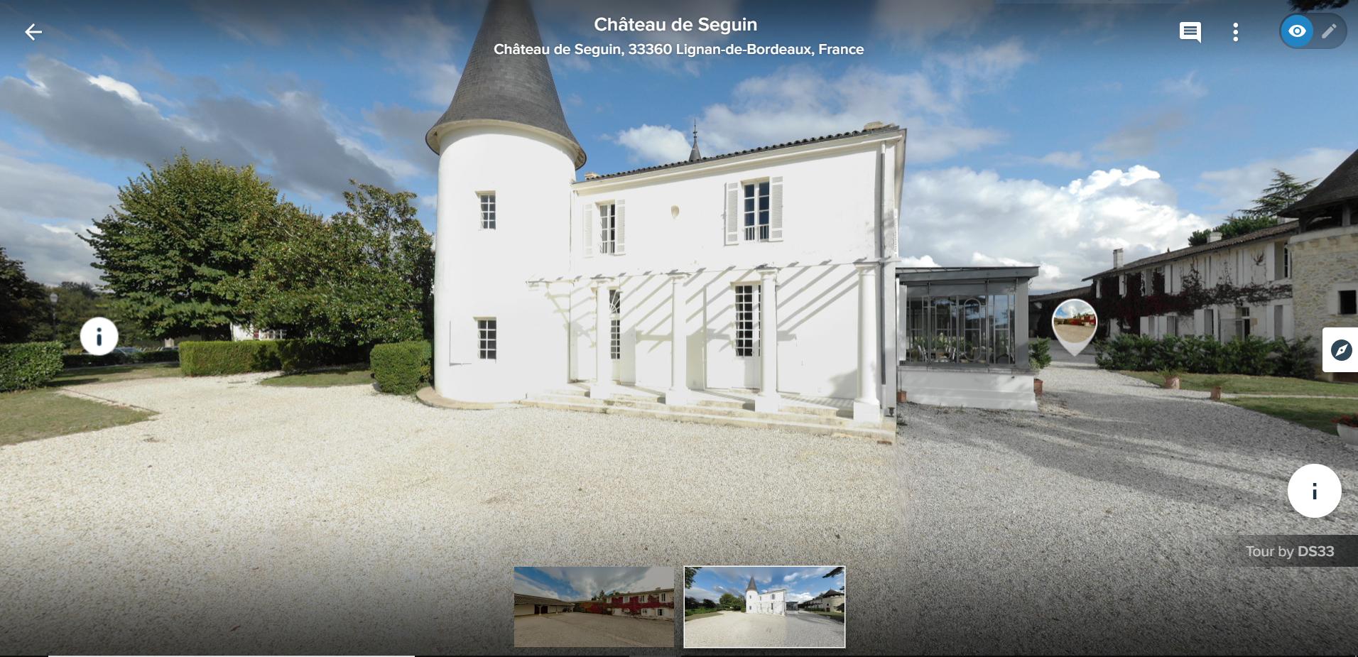 Visite virtuelle - Immobilier, entreprise, événementiel