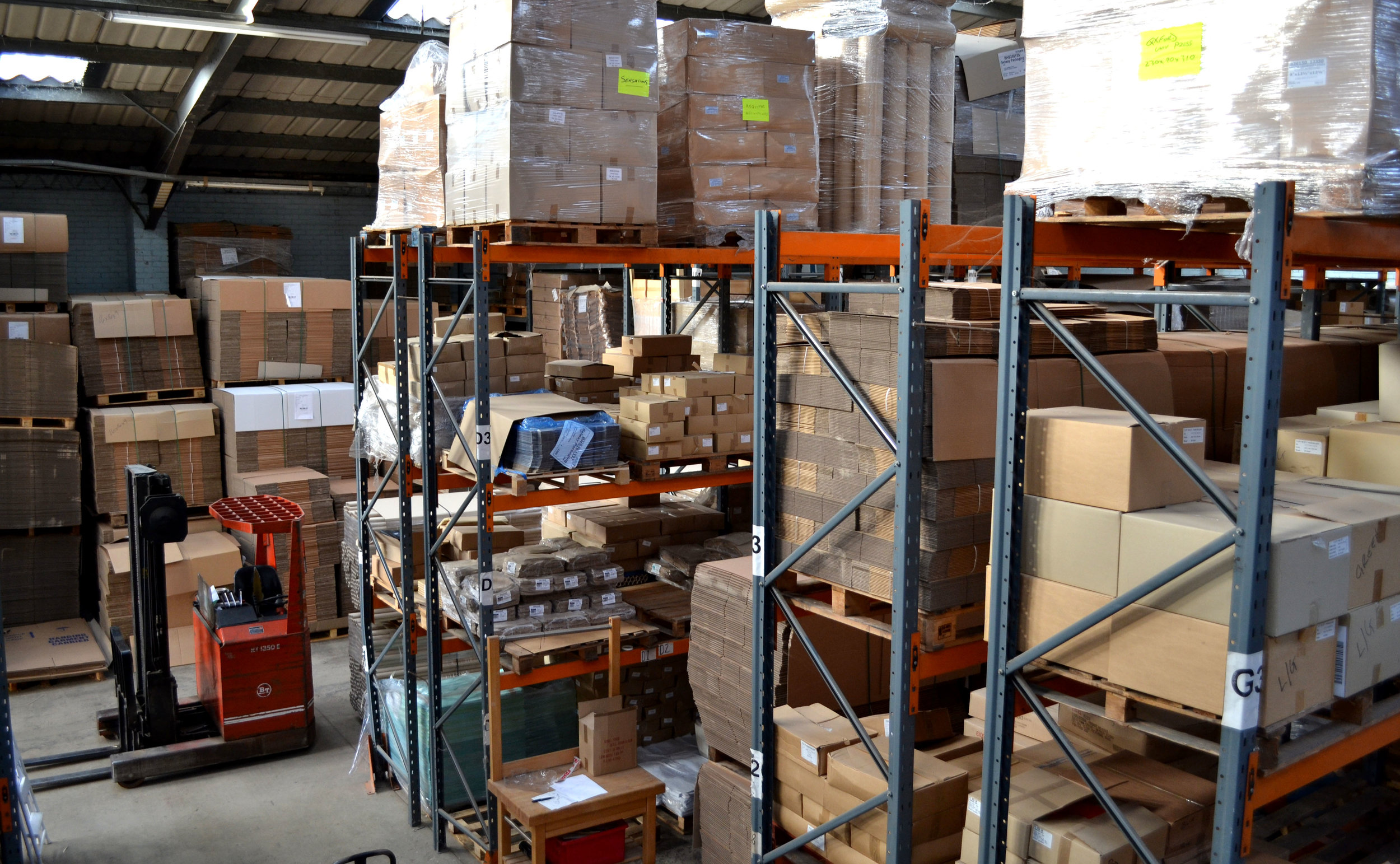 WAREHOUSE SPACE - Providing secure, accessible and convenient warehouse space. We can cater for the storage and distribution needs of your business operation!