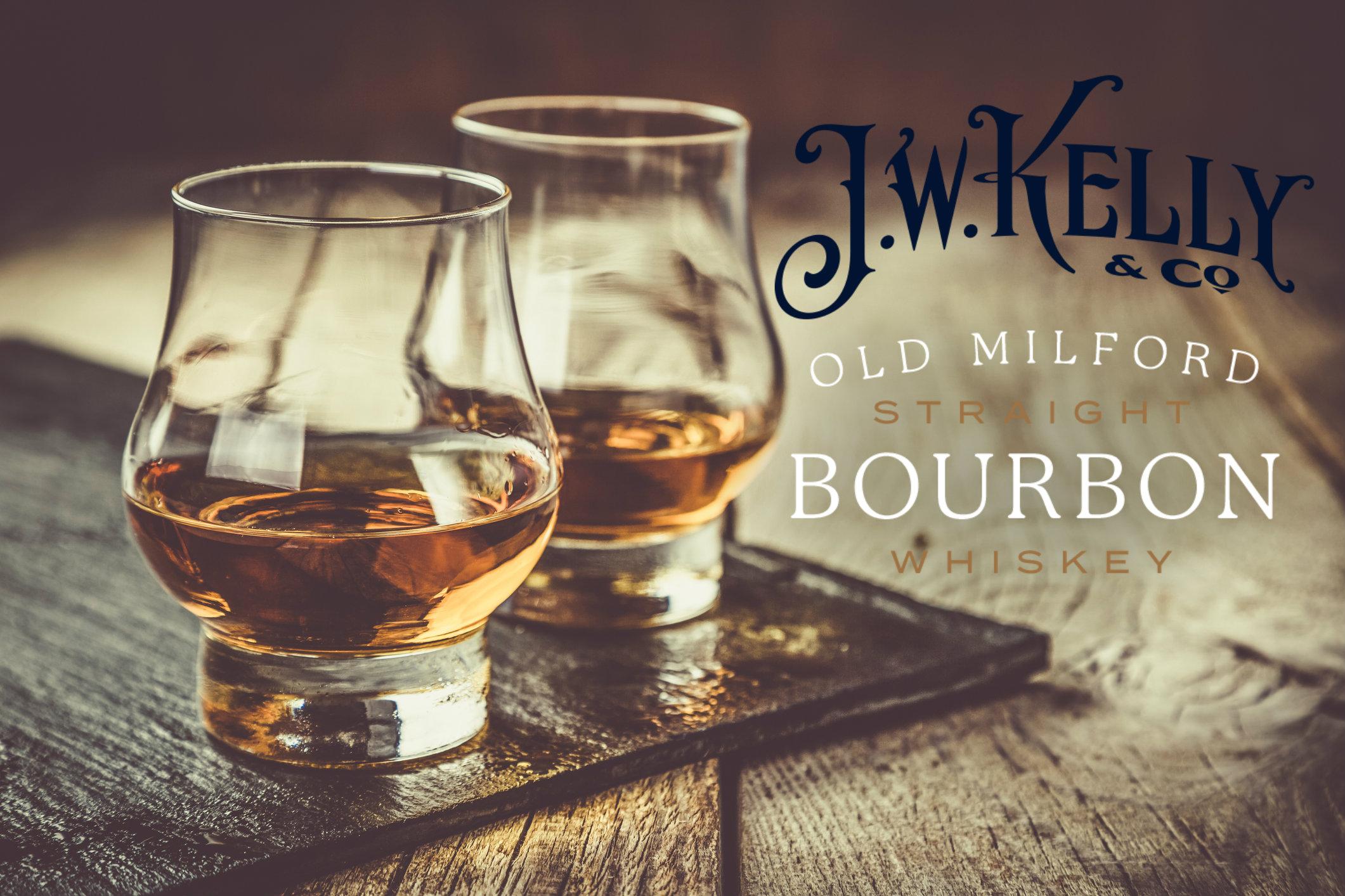 JW Kelly Old Milford Bourbon