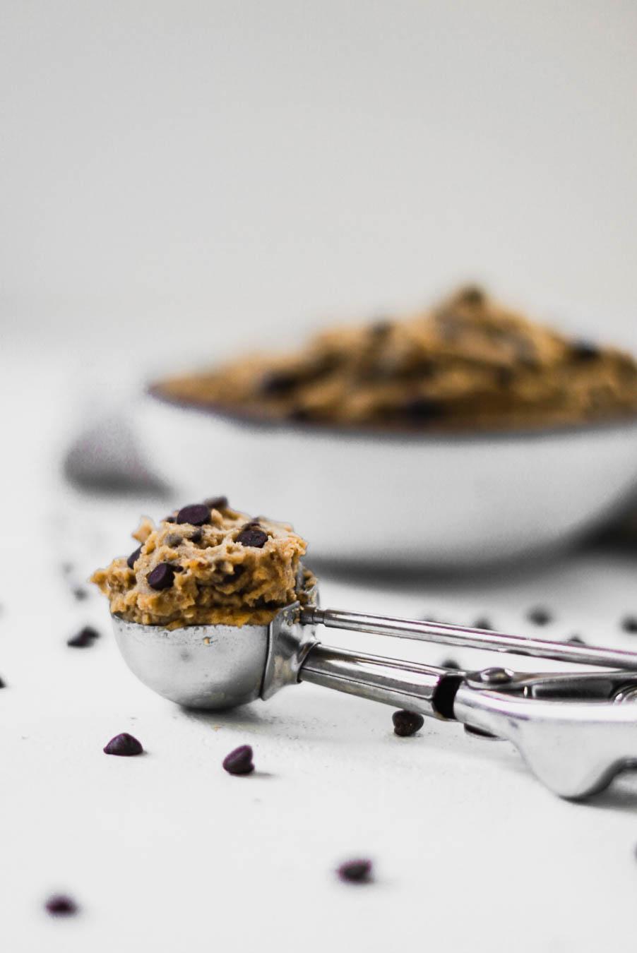 Healthy Edible Chickpea Cookie Dough