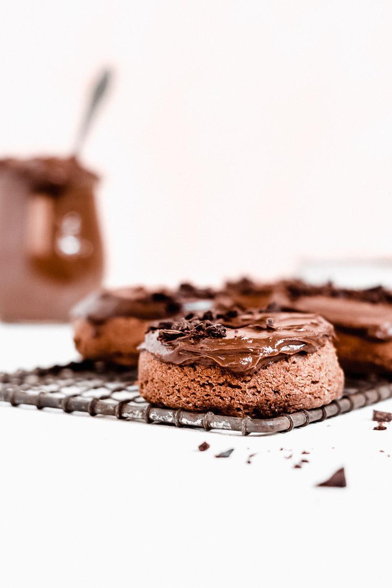 Healthy Chocolate Doughnut - The Fit Peach