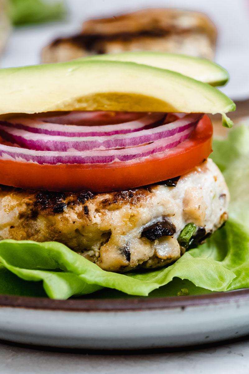 Healthy Turkey Burger - The Fit Peach