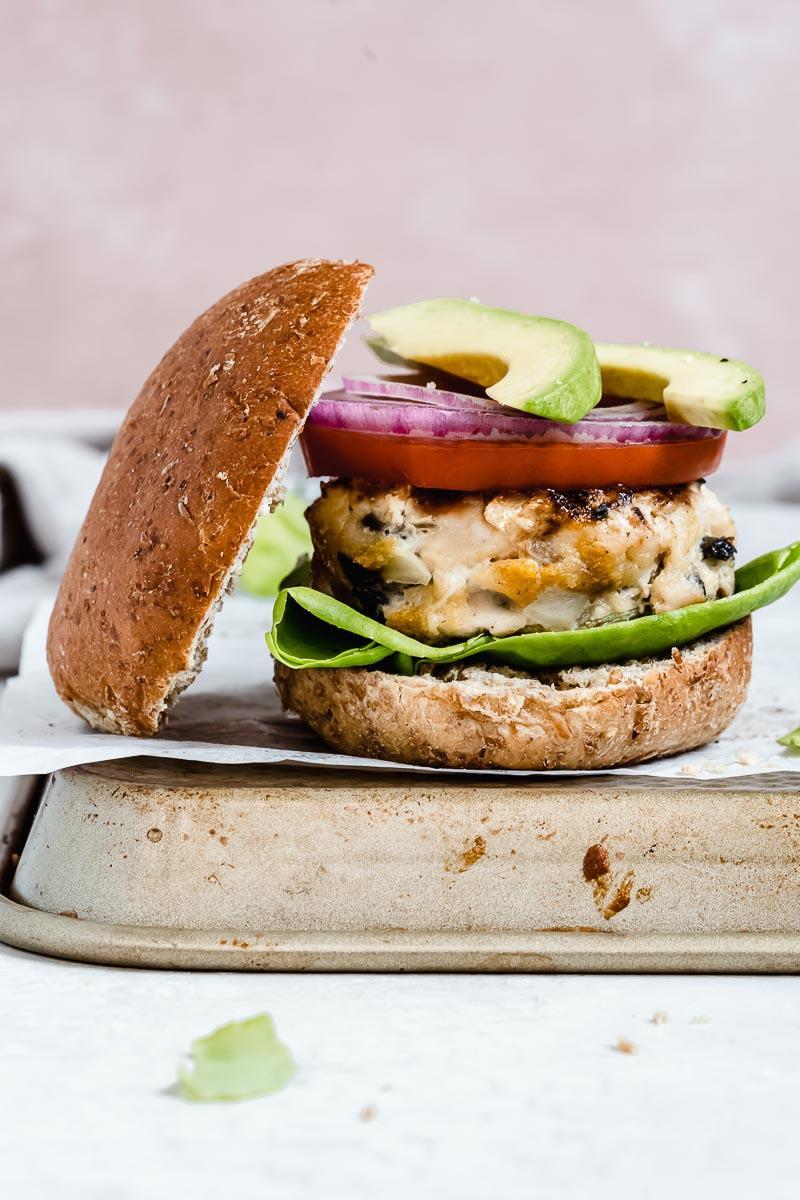 Simple Paleo Turkey Burger - The Fit Peach