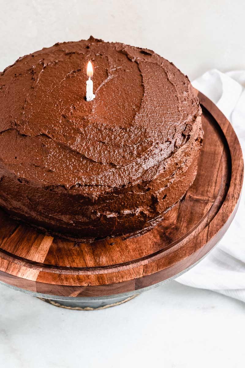 Chocolate Birthday Cake - The Fit Peach-7.jpg