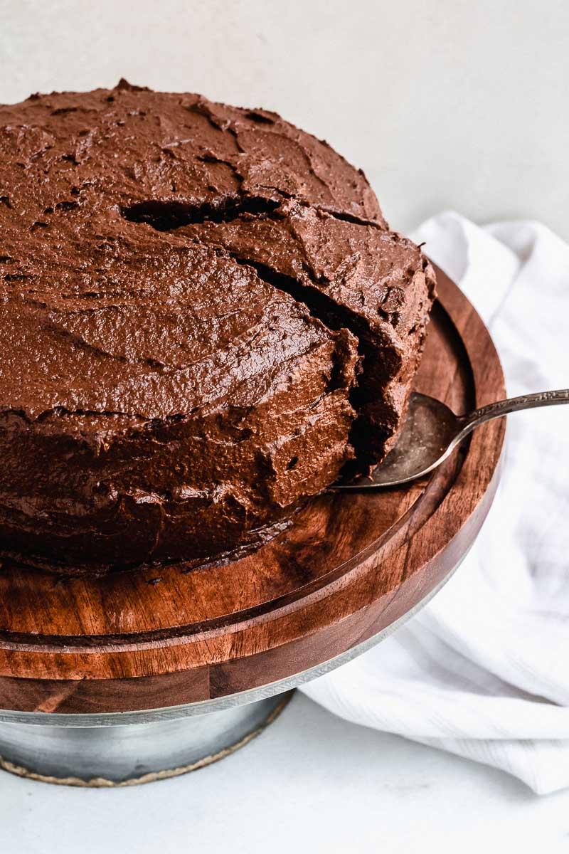 Chocolate Birthday Cake - The Fit Peach-8.jpg