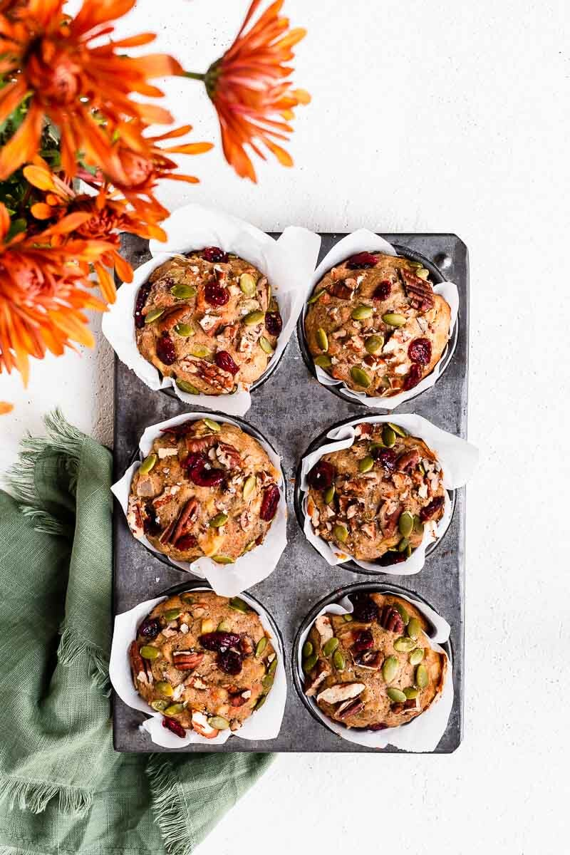 Ultimate Morning Glory Muffins - The Fit Peach