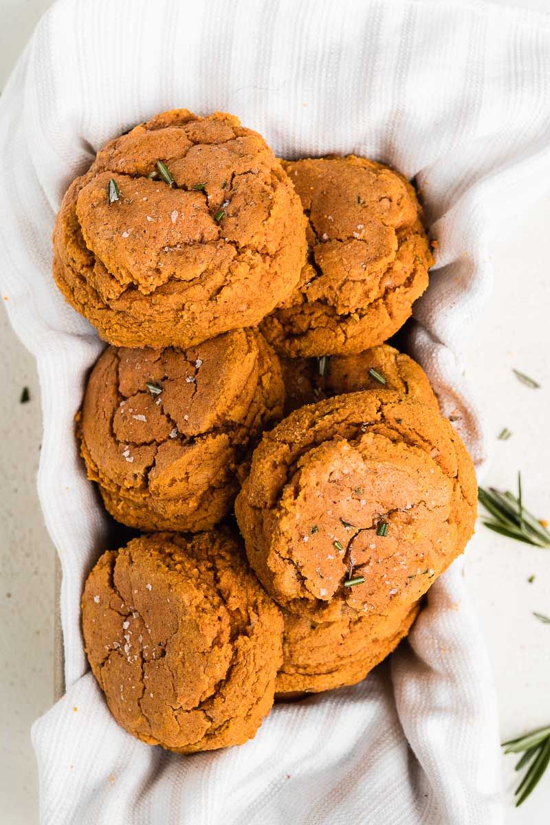 Healthy Pumpkin Biscuits - The Fit Peach