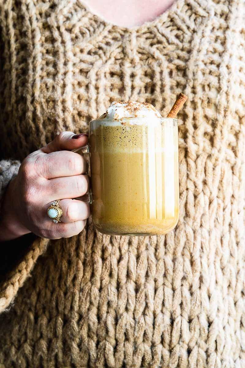 Regal Pumpkin Spice Latte - The Fit Peach