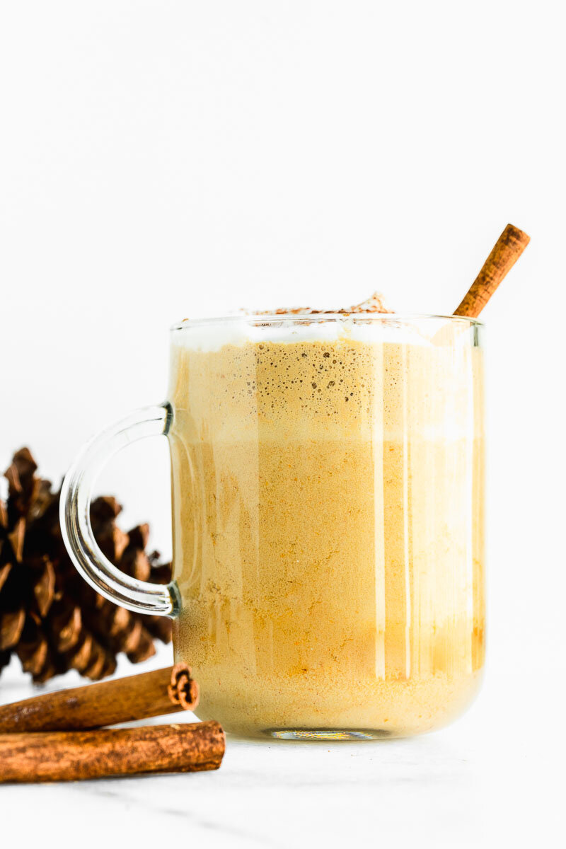 Nutritious Pumpkin Spice Latte - The Fit Peach