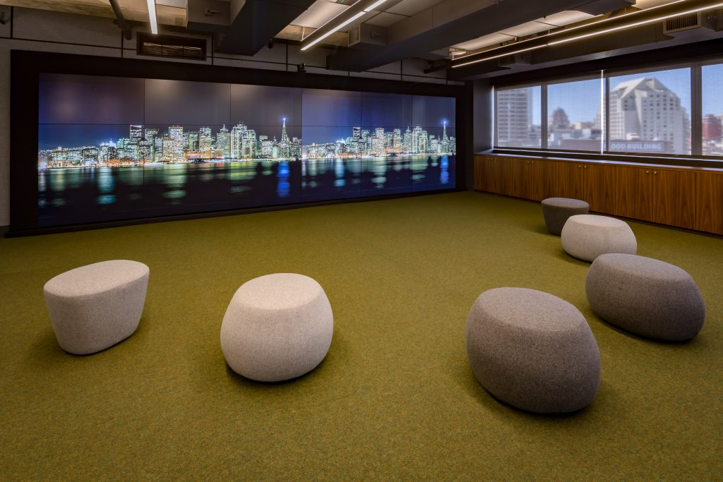 Custom audio for the Slack headquarters in San Francisco by Leon Speakers