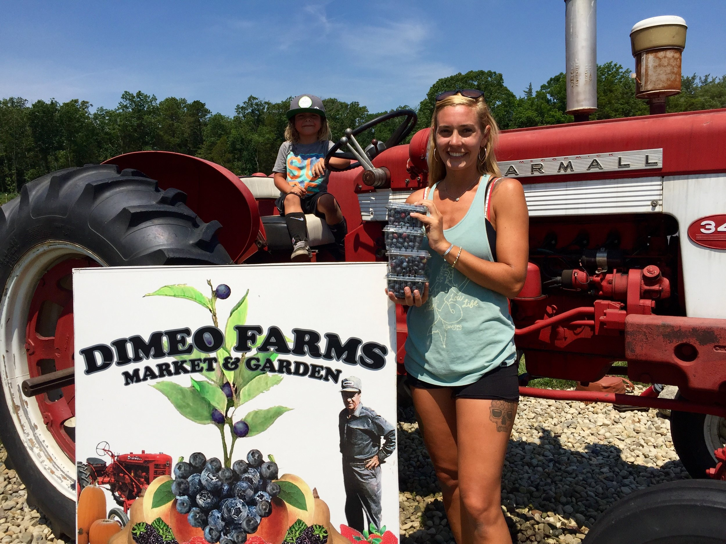 Single Mom's Love Blueberry Picking in South Jersey.jpg