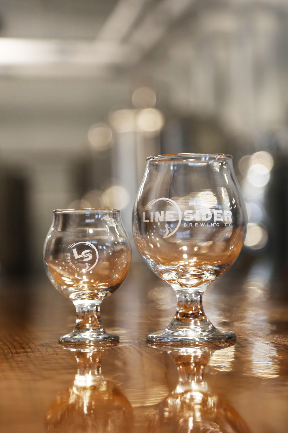 LineSider Brewing Company Glasses