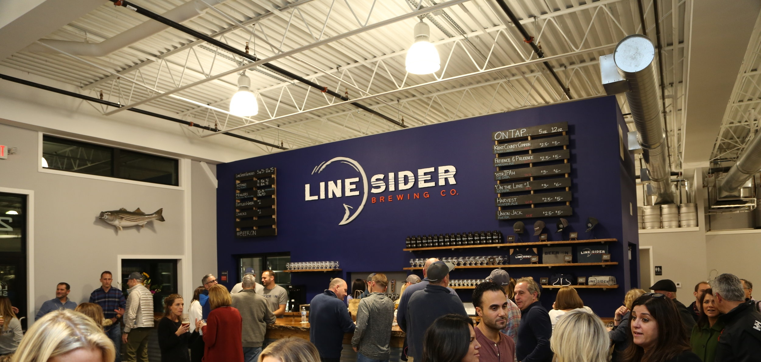 LineSider Brewing Company Tap Room - Craft Beer