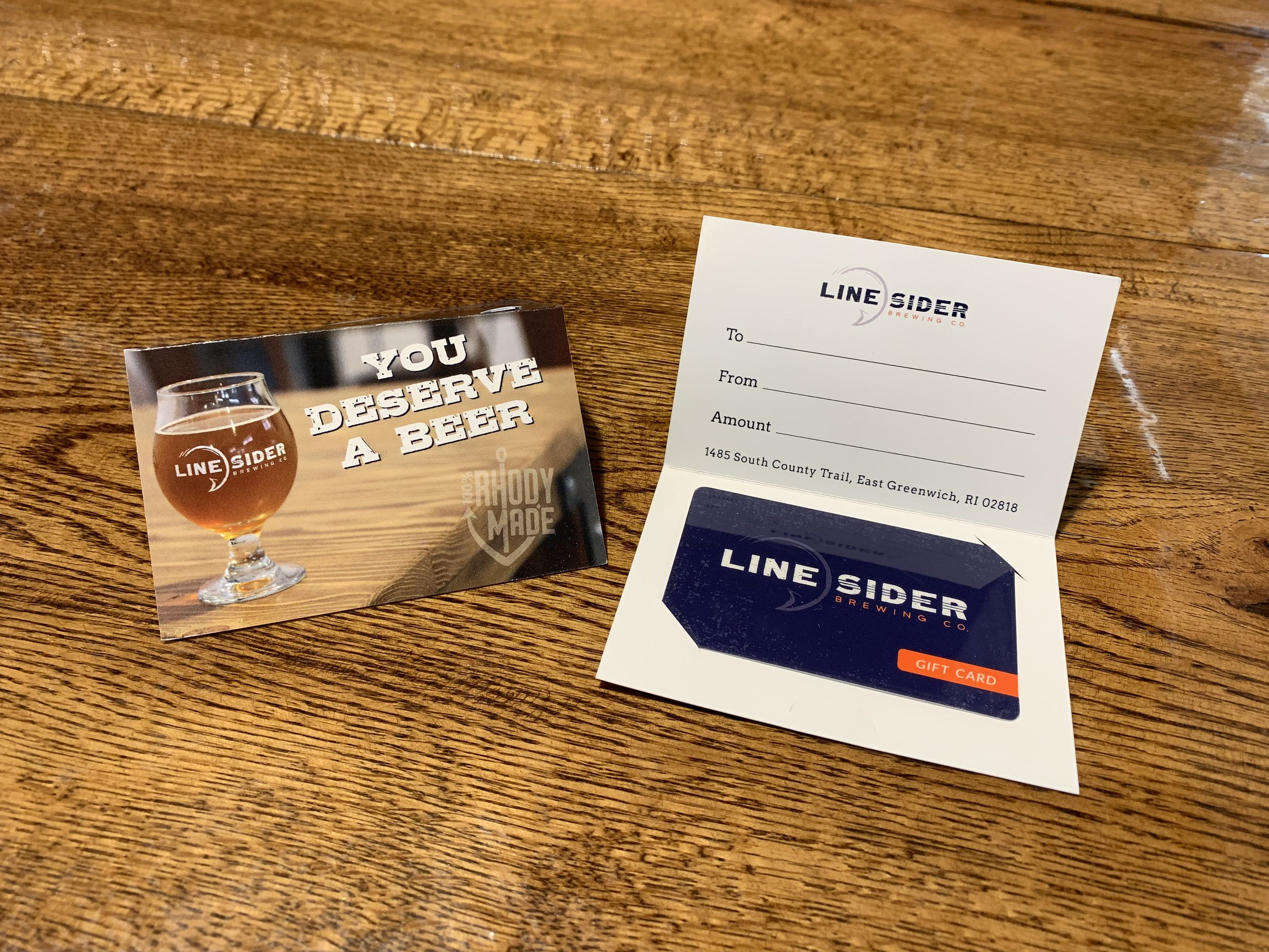 LineSider Brewing Company Glasses and Howlers